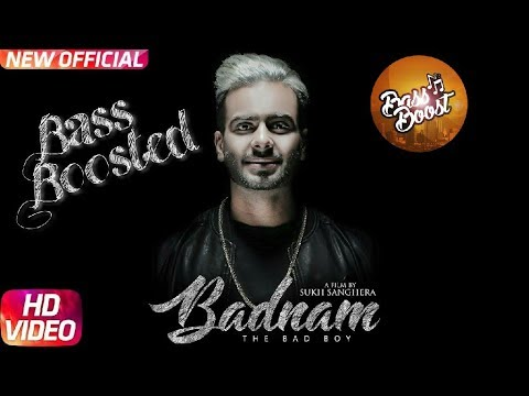 Badnam Mankirt Aulakh (Bass Boosted) | Badnaam Mankirat Aulakh Full Song | New Punjabi Song 2017