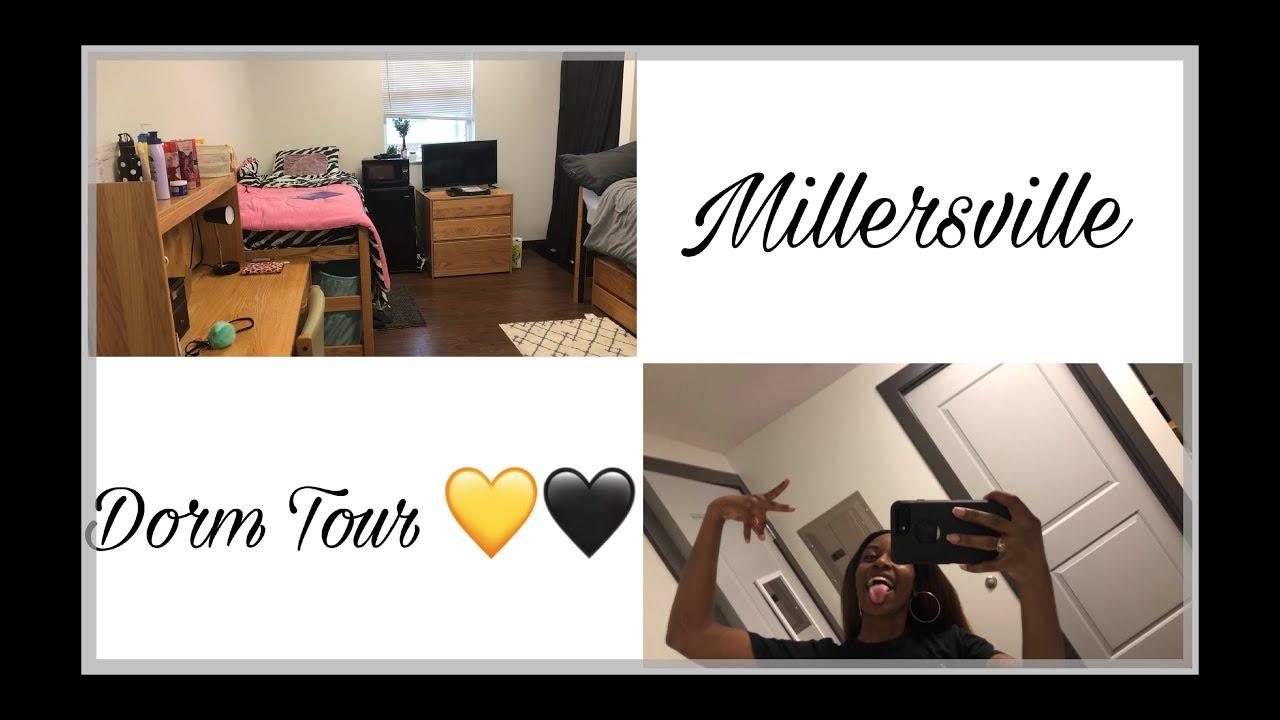 NEW COLLEGE DORM TOUR   Millersville University 2019