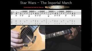 Guitar Tutorial 4 - Star Wars - Imperial March - F