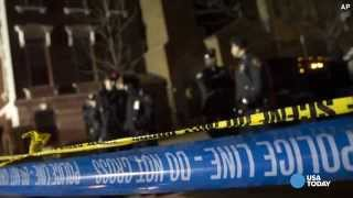 Police officers dead in Brooklyn ambush