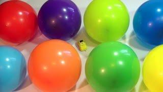 Шарики с сюрпризом. Учим виды транспорта, машин. Развивающее видео для детей.(Учим виды автомобилей, которые находятся в шариках сюрпризах. Развивающий мультик - игра покажет детям..., 2016-04-17T06:10:08.000Z)