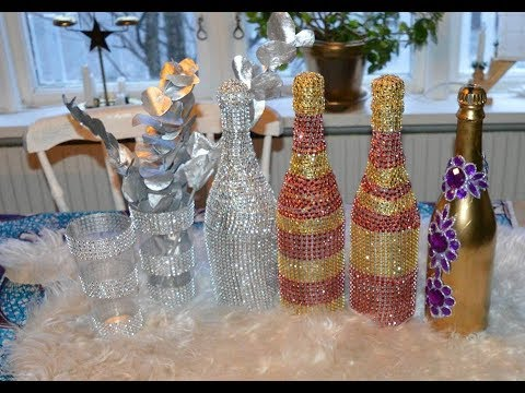 How To Make A Bling Bottles Nannah Abynah J 228 N Youtube