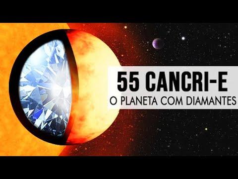 O Planeta Com Diamantes - 55 Cancri-e