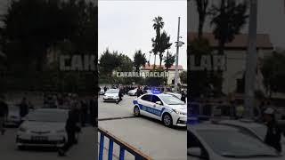 Devlet Bahçeli Koruma Konvoyu Çakarlı Araçlar MHP