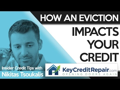 Key Credit Repair: How An Eviction Impacts Your Credit