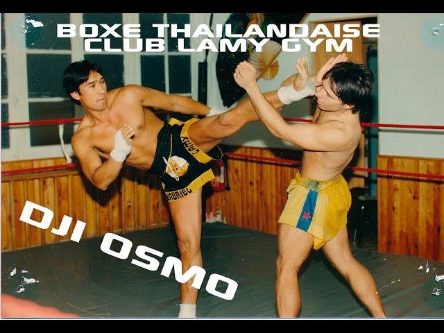 Dji Osmo thai boxing Lamy Gym short version