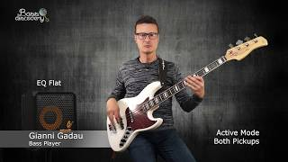 TEST: Sire V7 (with Aguilar AG 4j + Dogal CarbonSteel) & Markbass CMD 101 - I Feel Good (cover)