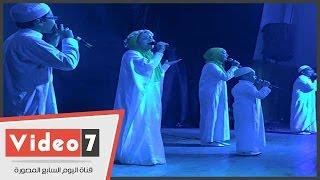 بالفيديو.. مفاجأة.. مفيد فوزى يشارك باحتفالات الليلة المحمدية فى الشيخ زايد