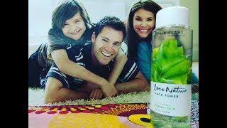 Oriflame Love Nature Aloe Vera Toner Men and Women Product Review and Usage
