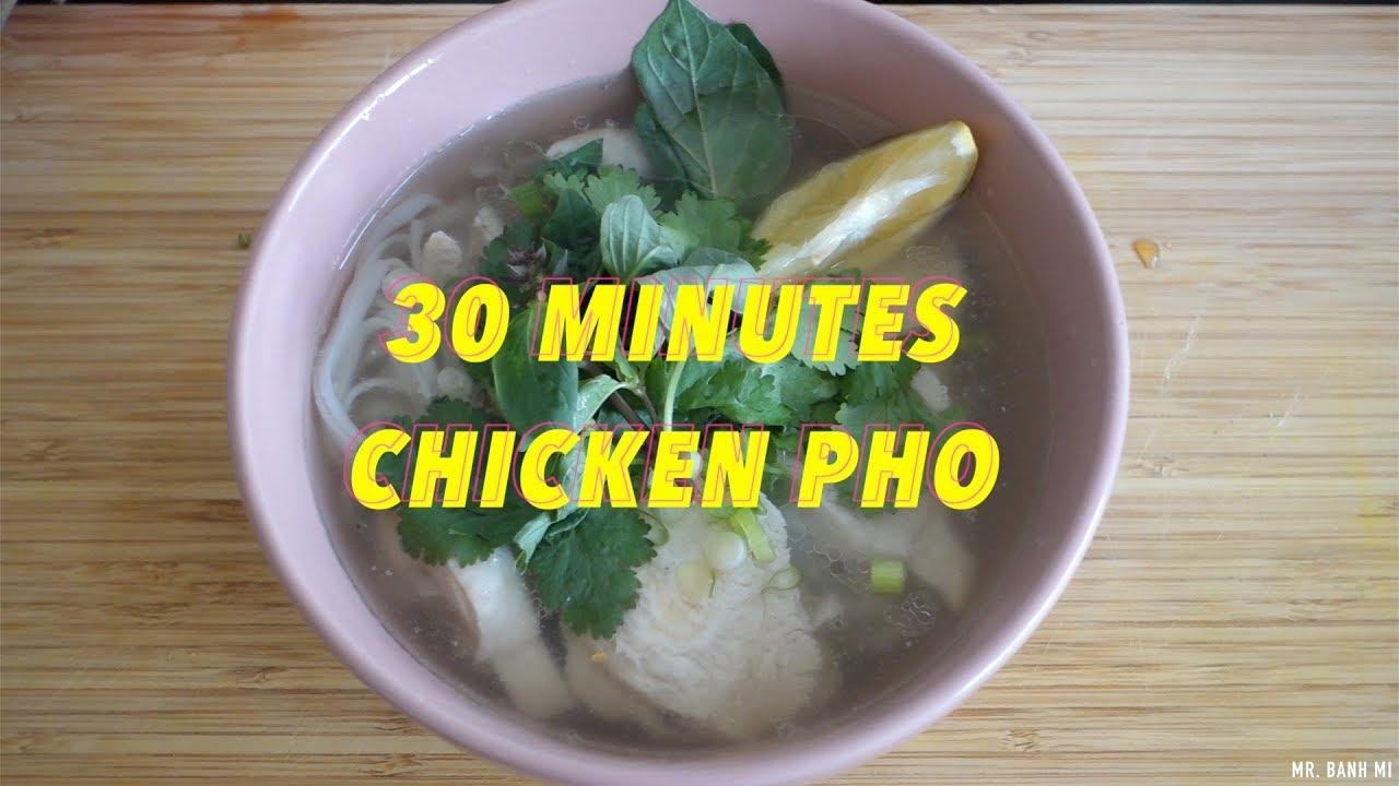 Vietnamese Comfort Food >> 30 Minute Authentic Chicken Pho Ga Vietnamese Comfort Food