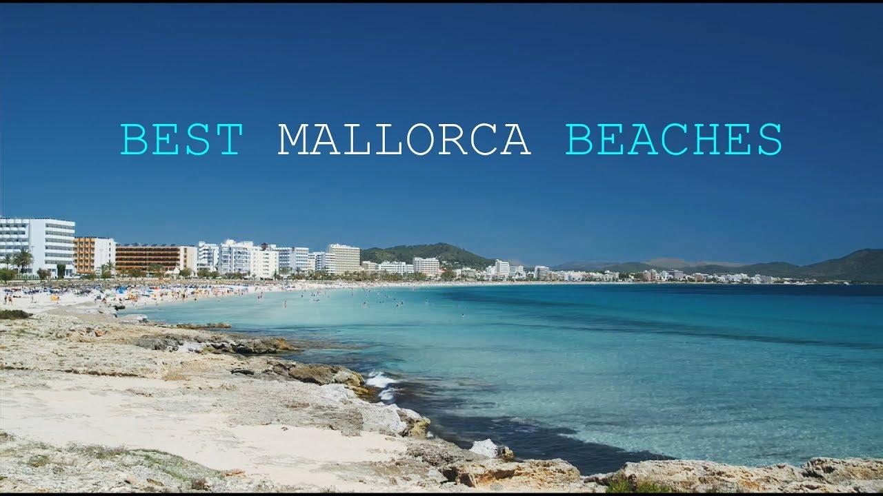 I walk on the beach in spanish