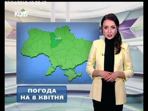 Телеканал Київ: Погода на 08.04.18
