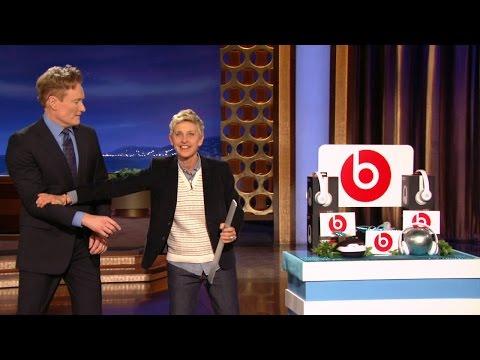 Ellen Visits Conan O'Brien