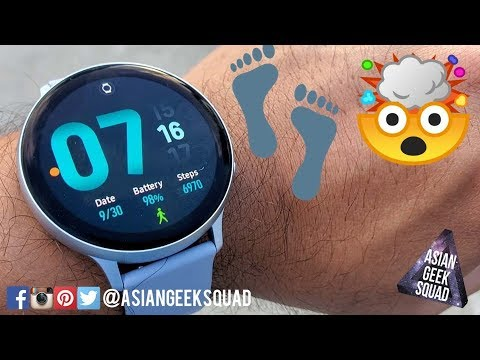 Galaxy Watch Active 2 Step Count Accuracy Test!