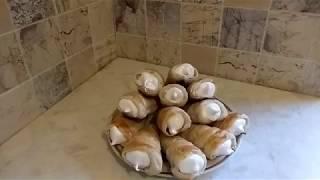 Что приготовить из слоёного теста?Пирожное трубочка! Вкус детства!