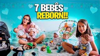 ROTINA DA MANHÃ DOS NOSSOS BEBÊS REBORN - FAMILY FUN 5