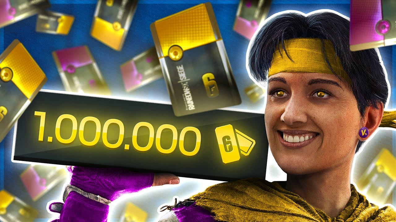 I Spent 1.000.000 Renown on Alpha Packs in Rainbow Six Siege.... (GONNE GOOD?!?!)
