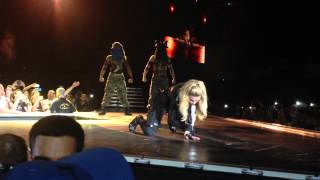Madonna - Papa Don't Preach live from Tel Aviv isreael opening show HD