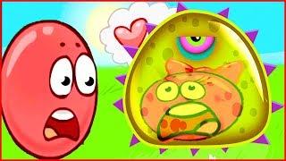 СЛИЗЬ СЪЕЛА Красного шарика в игре Tales from Space Mutant Blobs Attack