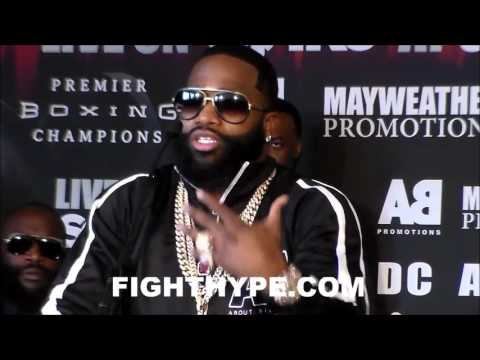 ADRIEN BRONER SAYS FUCK MAYWEATHER & TMT FOR NOW; PUTS FRIENDSHIP ON HOLD AHEAD OF THEOPHANE CLASH
