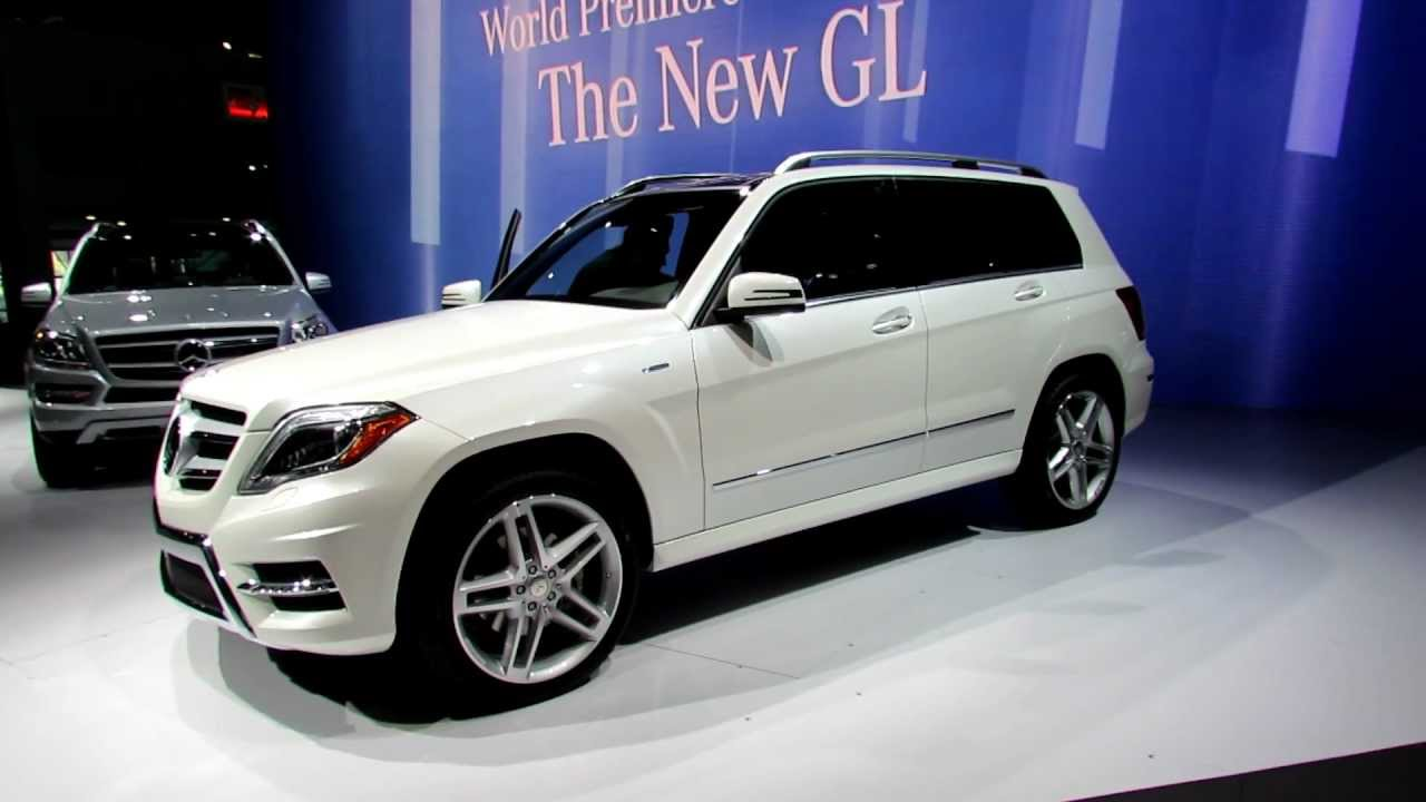 2013 Mercedes Benz GLK350 Exterior And Interior At 2012 New York  International Auto Show   YouTube