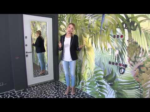 """Входная дверь Torex Ultimatum с зеркалом. Фрагмент передачи """"Квартирный вопрос"""" от 29.04.17г."""
