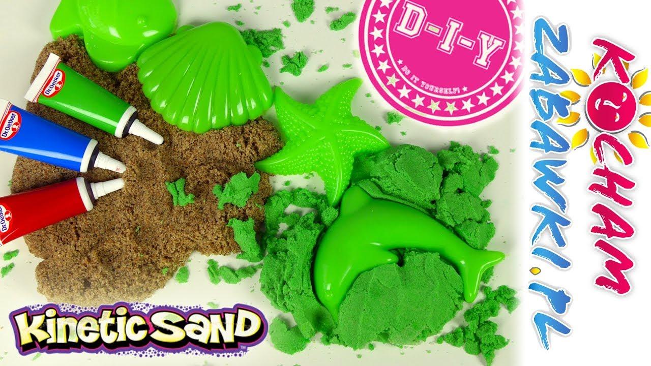 Piasek kinetyczny • DIY Jak zrobić kinetyczny piasek w 5 min? • Zrób to sam • Kreatywne zabawy