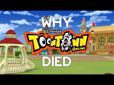 Why ToonTown Online Died