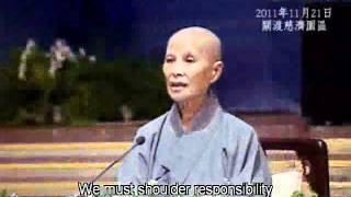 2011年11月23和25日人间菩提片段:不只是配合,更要承担