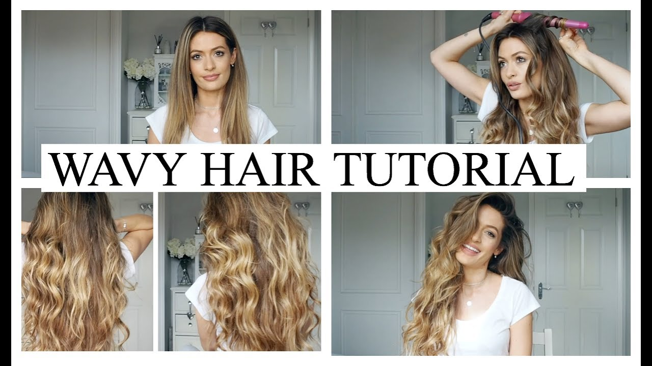 Wavy hair tutorial with clip in extensions youtube wavy hair tutorial with clip in extensions urmus Gallery