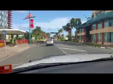 DRIVING IN SUVA CITY