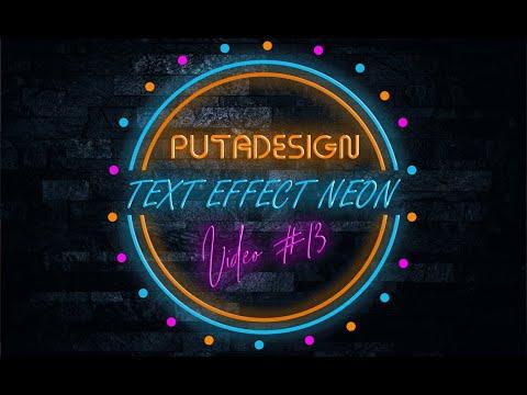 #13 Hướng Dẫn Cách Tạo Hiệu ứng Text Neon Photoshop Cực Cool, Cực Dễ !