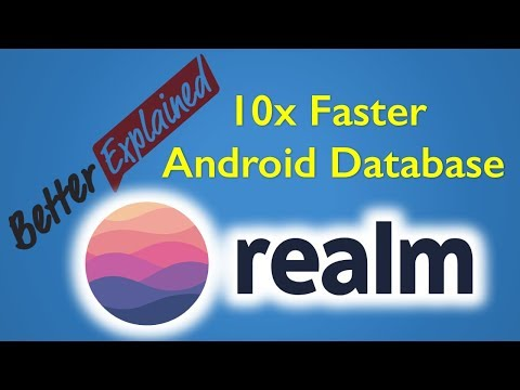 Realm Database Android Tutorial 10x Faster Than SQLite
