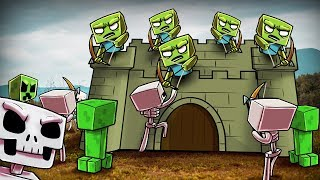 ZOMBIES HAVE A SECURE FORTRESS! (Crazy Minecraft)