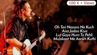 Lut Gaye Lyrics - Jubin Nautiyal  Dil ka sauda hua chandni raat mein  Teri Nazron ne kuch yesa jadoo