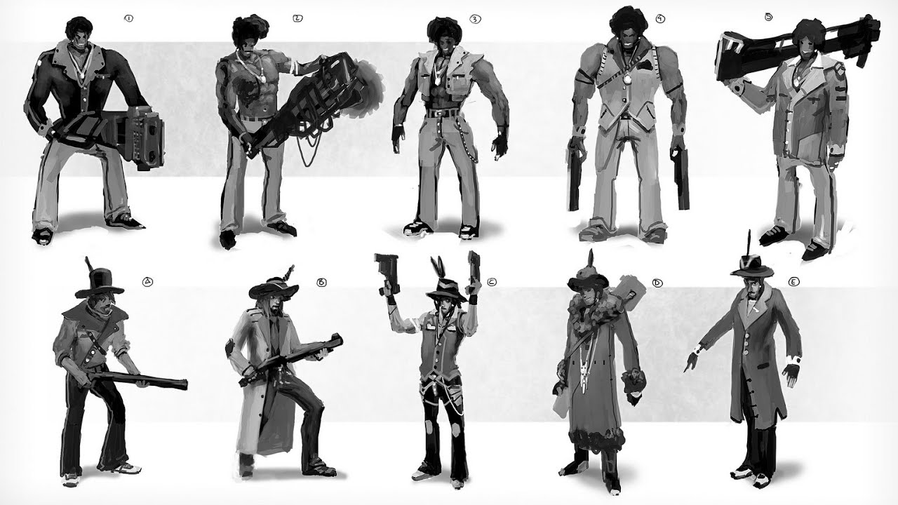 Character Design For Games Pdf : Thumbnails for character design youtube