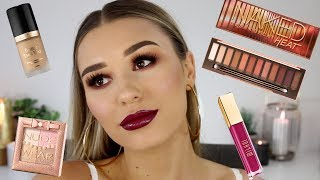 Full Glam Makeup Tutorial | Urban Decay Heat Palette HISS OR MISS?!