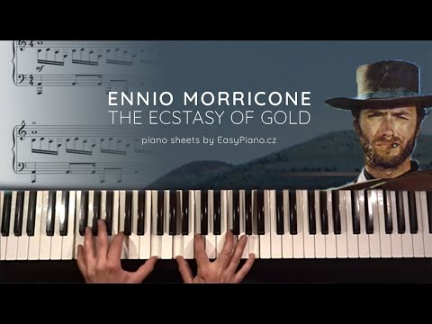Ennio Morricone: The Ecstasy Of Gold + piano sheets