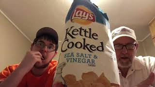 The Beer Review Guy #1196 Kettle Cooked Sea Salt & Vinegar Flavored Chips