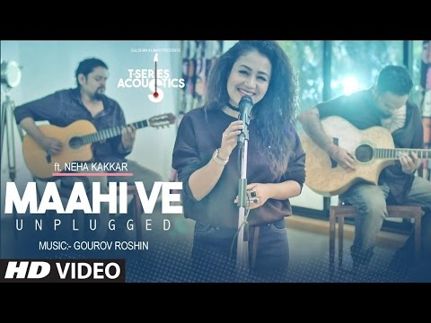 Maahi Ve Unplugged lyrical Video Song...