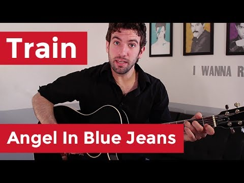 Train - Angel In Blue Jeans (Guitar Lesson) by Shawn Parrotte