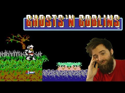 Extraordinarily Hard Games [#04] - Ghosts 'N Goblins