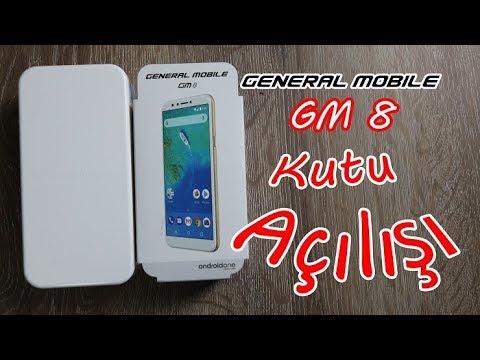 General Mobile GM 8 Kutu Açılışı