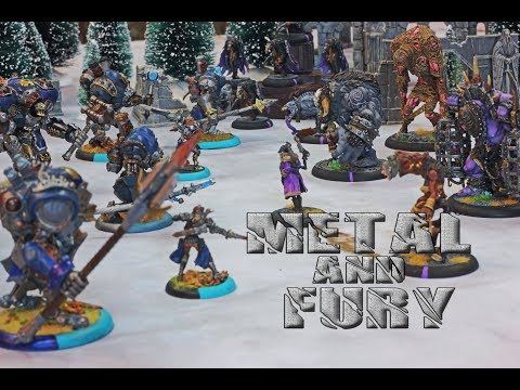 Metal and Fury Ep.8: Journeyman League Week 3 Grymkin Vs. Cygnar Battle Report