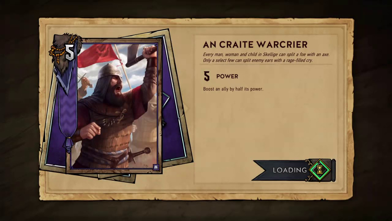 10/15/2018 Gwent: The Witcher Card Game