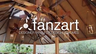 Twinz - Contemporary Ceiling Fan - Fanzart