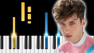 Troye Sivan - My My My! - Piano Tutorial / Piano Cover