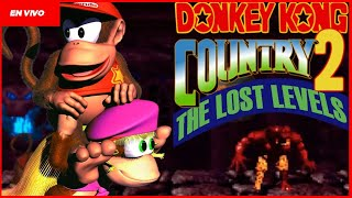 QUE WEÁ ESTE HACK! DONKEY KONG COUNTRY 2 - THE LOST LEVELS