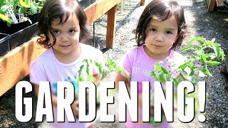 STARTING THE GARDEN! - May 23, 2017 -  ItsJudysLife Vlogs