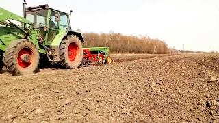 [PL] Rolnictwo: Siew wiosną 12 kwietna 2018 jęczmień i pszenica